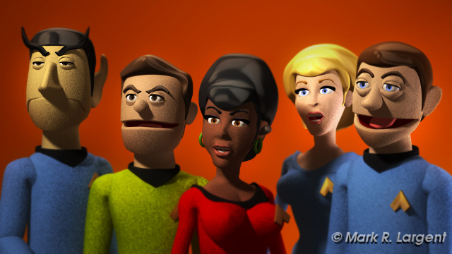 Cast of Stalled Trek