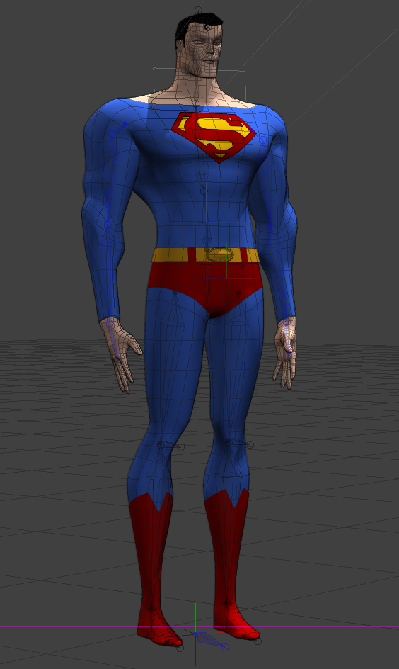 How the model looks so far.